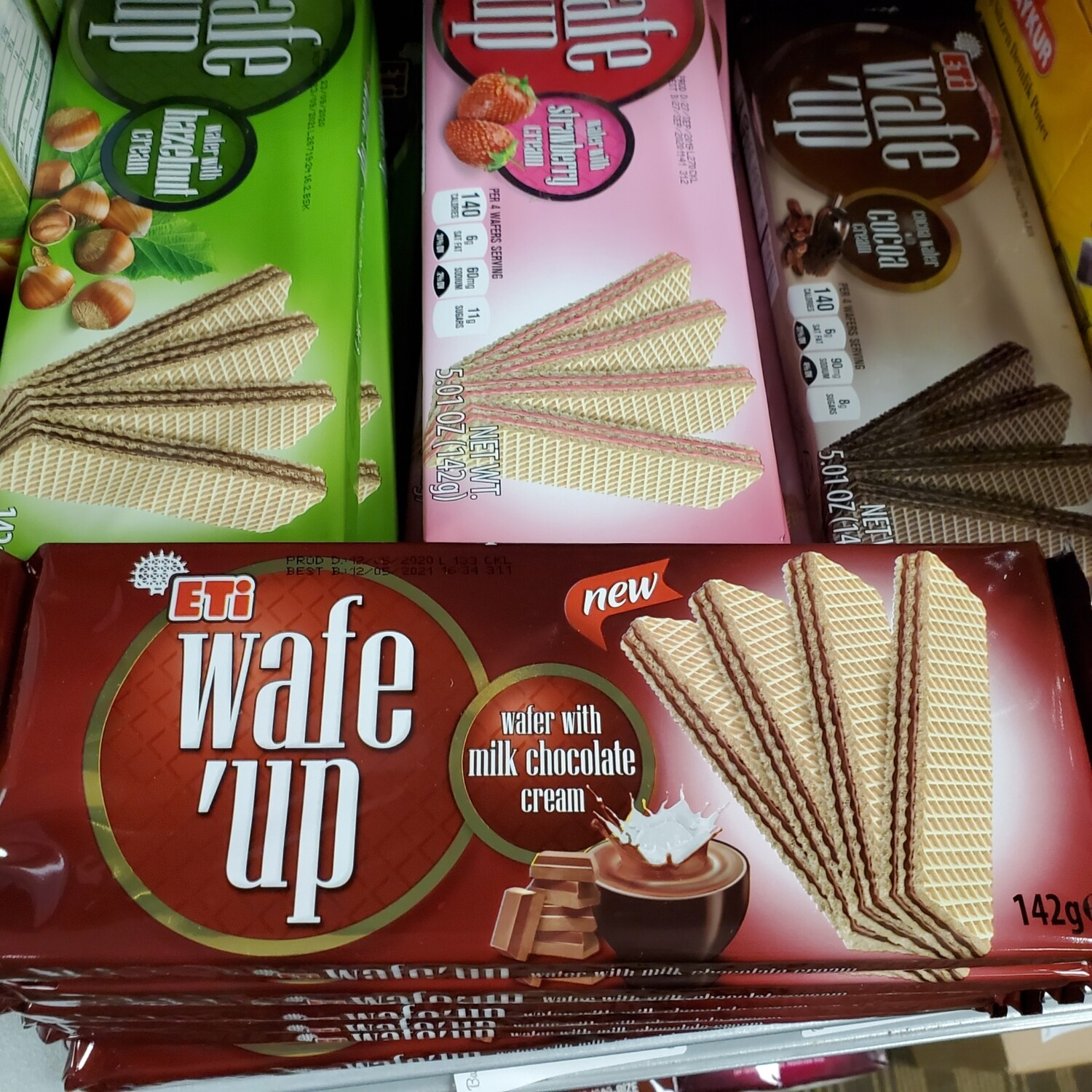 Eti Hosbes WAFE UP wafer with chocolate cream142GR