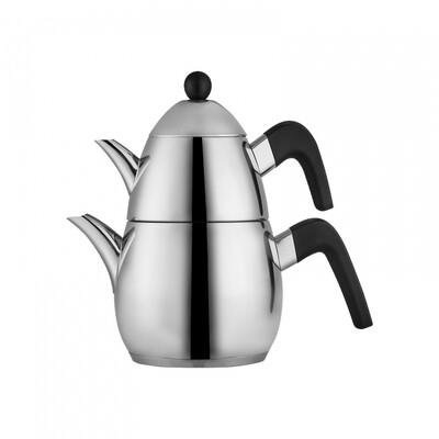 Karaca Tokyo PowerSteel Pro 316 Steel Teapot Set Medium