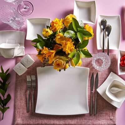 Karaca Perfect White 32 Piece Breakfast Set