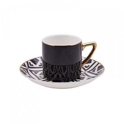 Karaca Monochrome 4 Kişilik Kahve Fincan Takımı (Turkish Coffee Set for 4)