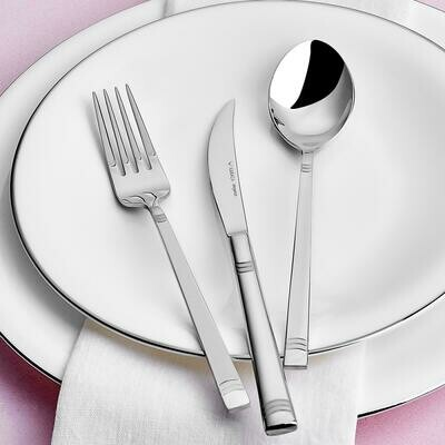 KRC CUTLERY  D029 84 PIECES  ELEGANCE WITH BOX