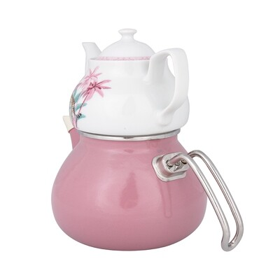KARACA RIO ROSA TEA POT SET