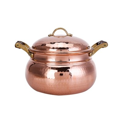 KARACA NISH COPPER NEW TOMBIK COOKWARE  STEW POT 21 CM