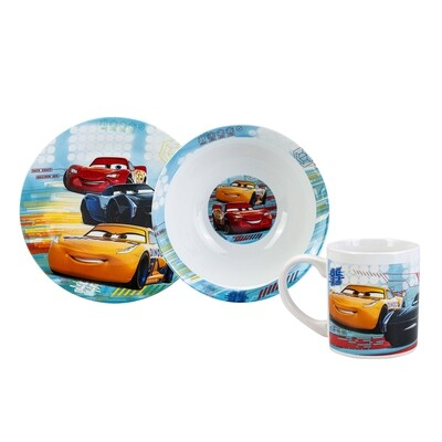 KARACA CARS 3 PCS MAMA SET