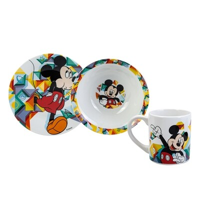 KARACA MICKEY MOUSE 3 PCS MAMA SET 78185