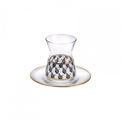 KARACA ALFA 12 PIECES TEA SET