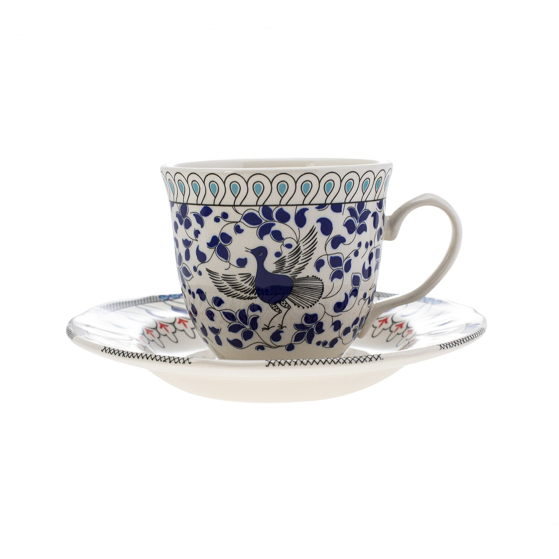 Karaca Mai Selcuklu Serisi 2 Kisilik Cay Fincanı (Tea Set For 2)