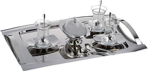 KARACA NEKLUS KRC101 40 Pieces Tea Set (Tea Set for 12)