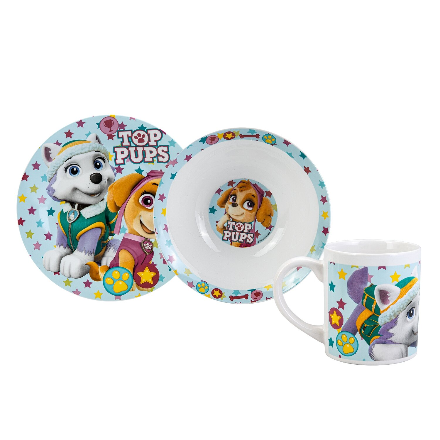 KARACA PAW PATROL GIRL 3 PCS MAMA SET 40655