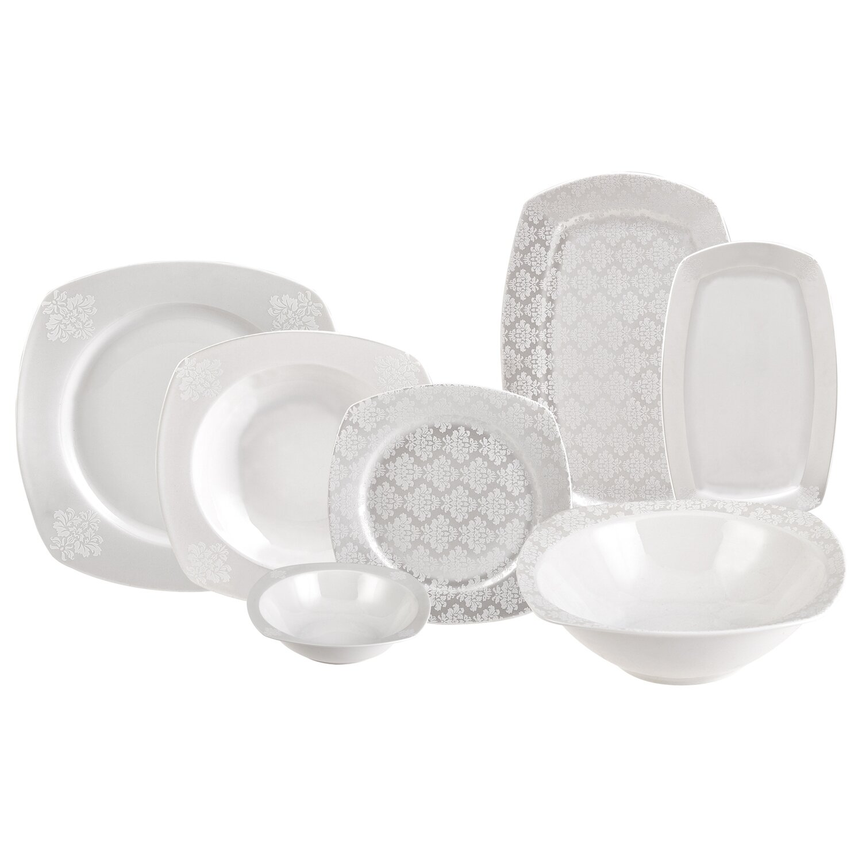 Karaca Yaren 59 Pieces 12 Man Dinner Set Dinnerware set