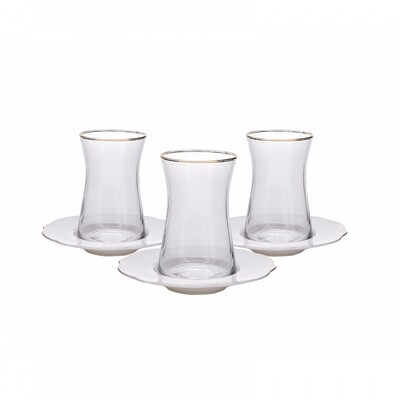 KARACA STERN 6 PERSON TEA SET