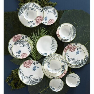 KARACA ROSA 24 PIECES DINERWARE