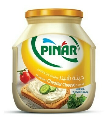 Pinar SPREADABLE PROCESSED CHEDDAR CHEESE 200gr