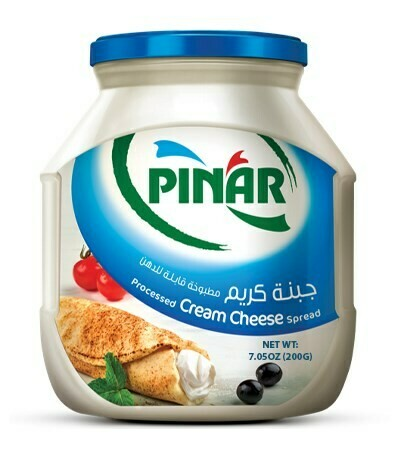 Pinar SPREADABLE PROCESSED CREAM CHEESE 200gr