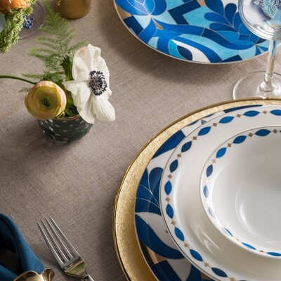 KARACA FINE PEARL AZUR 62 PIECES  Dinner set Dinnerware set