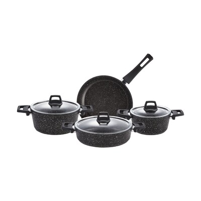 KARACA MORENA BIO GRANIT 7 Pieces  COOKWARE Stew Pot Set