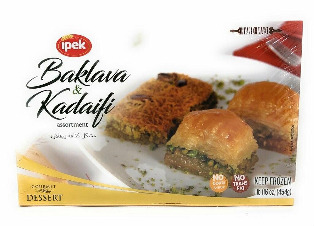 IPEK BAKLAVA & KADAIFI ASSORTMENT 1LB