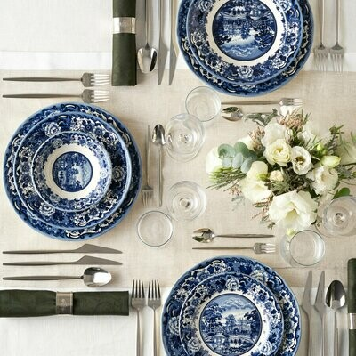 KARACA NEW BLUE ODYSSEY 6 Person Dinner Set Dinnerware set