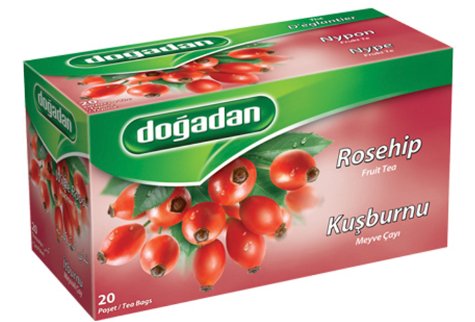 DOGADAN ROSEHIP TEA 20TB Kusburnu