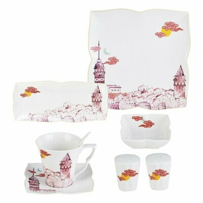 KARACA SEVDA 32 Pieces Breakfast Set