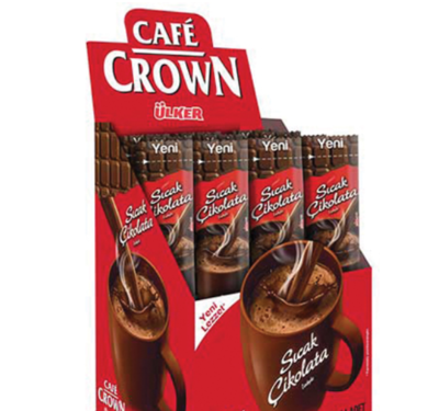 ULKER CAFE CROWN HOT CHOCOLATE 23GR x 4 pcs