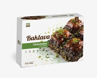 Moda baklava with chocolate 12oz (8 pieces)