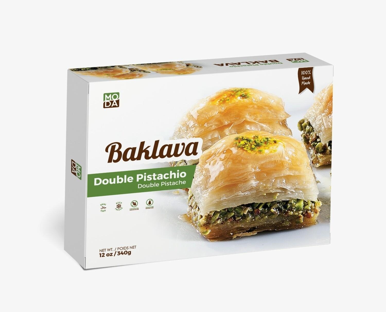 Moda Baklava with Pistachios 12 oz - 9 pieces