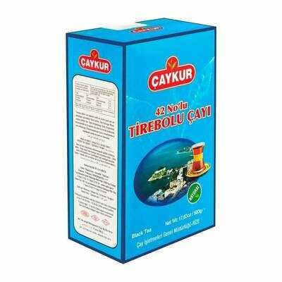 Caykur Turkish Black Tea, 42 no Tirebolu Tea, Pesticide Free 500gr