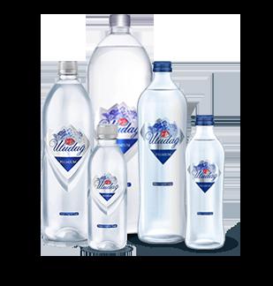 Uludag Premium Spring Water 1lt Plastic