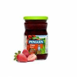 Penguen strawberry jam preserve  çilek reçeli 380gr