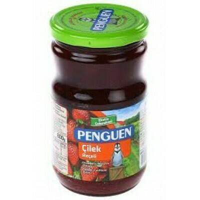 Penguen strawberry jam preserve  çilek reçeli 800gr