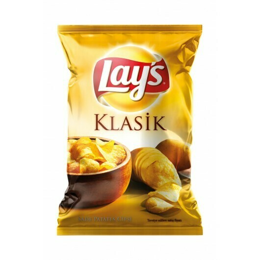 Lays Classic Super Size 101gr (Halal)