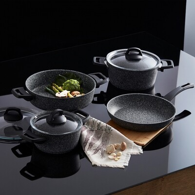 KARACA AZUL BIO GRANIT 7 PIECES SET