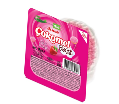 ULKER COKOMEL POFTI STRAWBERRY 18G X 6 pcs