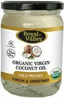 ROYAL VALLEY ORGANIC VIRGIN COCONUT OIL 473ML