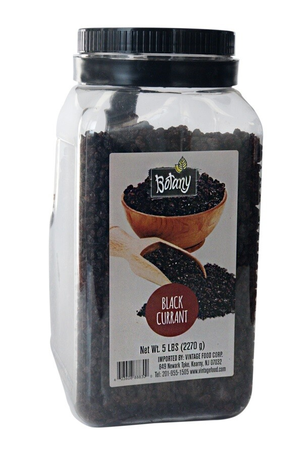BOTANY BLACK CURRANT 5LBS (2270GR)