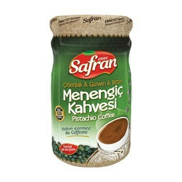 Safran Menengic kahvesi 600gr glass ( pistachio coffee)