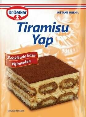 Dr. OETKER Tiramisu Tramisu Mix 127gr