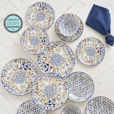 KARACA MOSAICO 24 PIECES DINNERWARE