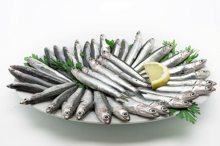 Temizlenmis Hamsi Anchovy gutted by Fish Avenue (frozen) 32oz