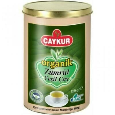 CAYKUR ORGANIC ZUMRUT GREEN TEA 125GR CAN