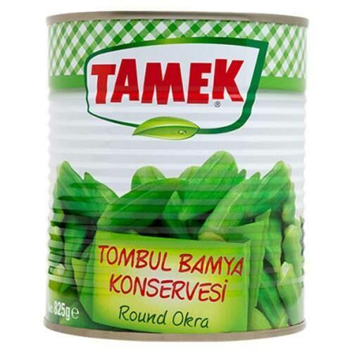 TAMEK OKRA ROUND Bamya 825G CAN