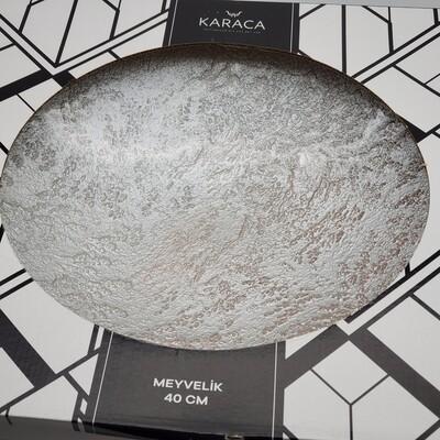 Karaca Meyvelik KUMDESEN  DECORATIVE PLATE 40cm