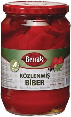 BERRAK RED ROASTED PEPPER 720ML GLASS