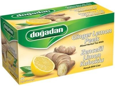 DOGADAN LEMON GINGER TEA 20TB