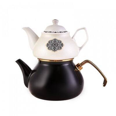 Karaca Leo Porselen Demlikli Çaydanlık Takımı  Tea Pot
