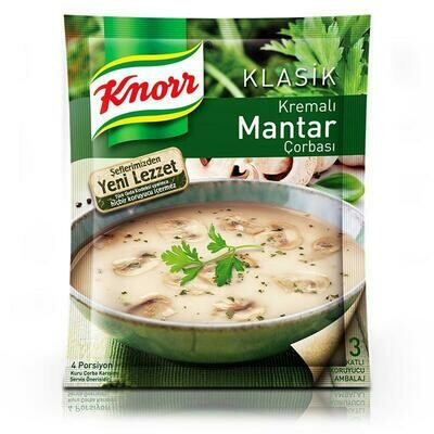 Knorr Creamy Mushroom soup ready to cook 65gr