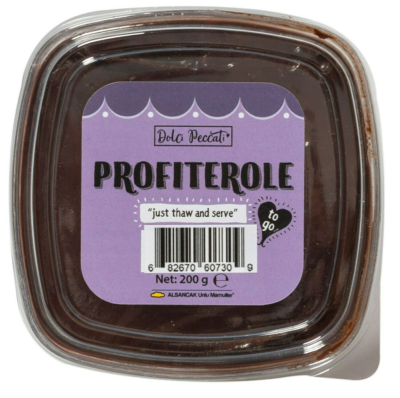 Dolci Peccati Profiterole - Profiterol 200gr - Halal