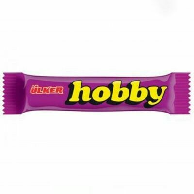 Hobby Chocolate Bar with Hazelnut 40gr