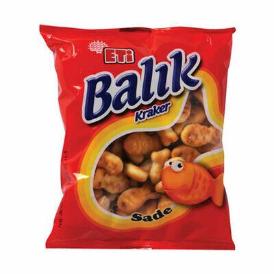 Eti Balik kraker - Fish Shaped Crackers , 40gr